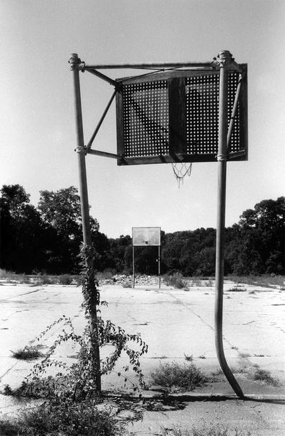 Zenfolio | PETER SCHEER | Black & White | Basketball Court